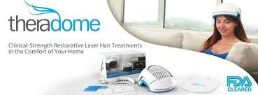 Theradome laser hair treatment